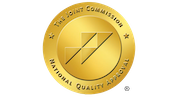 Gold joint commission badge